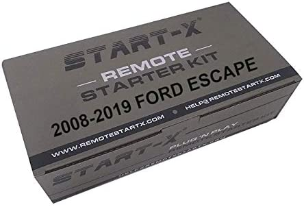 Start X Remote Starter Kit for Ford Escape 2008 2019 Plug n Play 2008 2009 2010 2011 2012 2013 product image