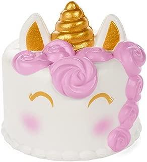 Silly Squishies, Unicorn Cake Squishy, Slow Rising and Jumbo, Licensed