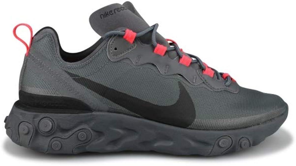 Nike React Element 55 Gris Cq4809-001 : Amazon.fr: Chaussures et Sacs