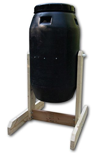 Affordable Compost Tumbler, DIY Kit, Used Food Grade Barrel, Upcycled!!!