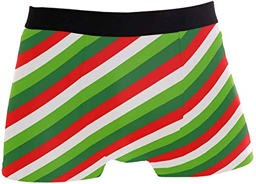Candy Paper Print Mens Boxer Briefs Underwear Breathable Stretch Boxer Trunk with Pouch