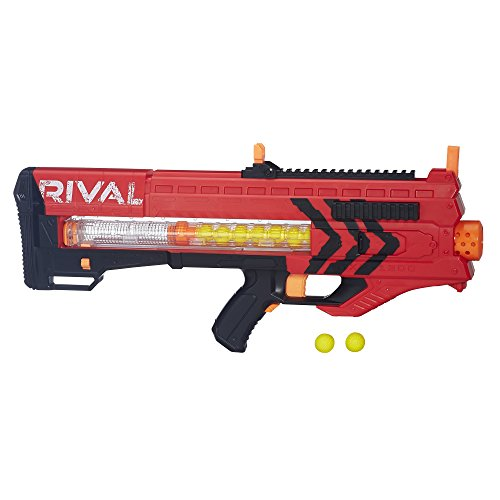 Nerf Pistola de Bolas Rival Zeus MXV-1200, Color Rojo
