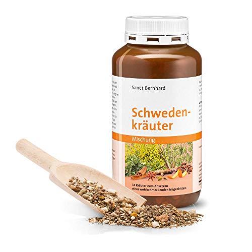 Sanct Bernhard Schwedenkräuter Kräutermischung mit 14 Kräutern zum Ansetzen, Inhalt 160 g