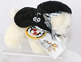 Lulu Macfluff Dog Vanderbear Portrait in Black and White Collection - A Legendary Family - Limited Edition 1997 Holiday