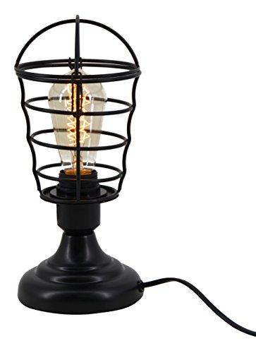 Moycor kilat – lampe de table horizontale, 13 x 13 x 28 cm, couleur noir