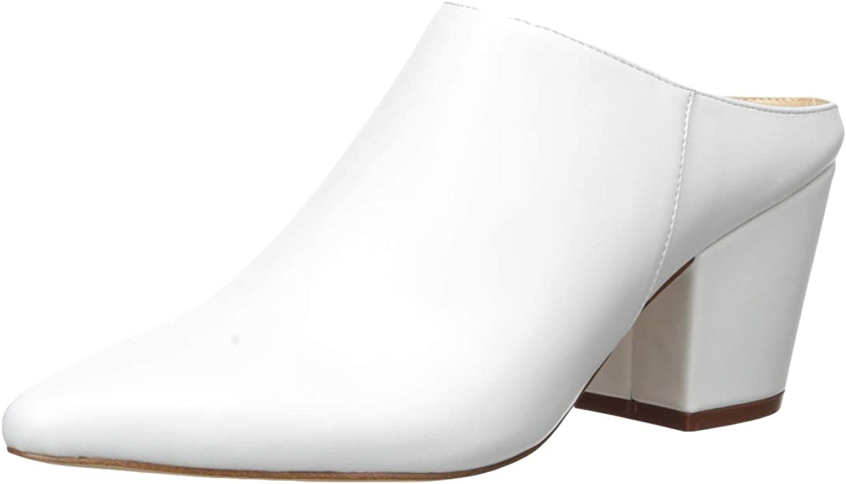 The Drop Women's Jordan Pointed Toe Block Heel Mule