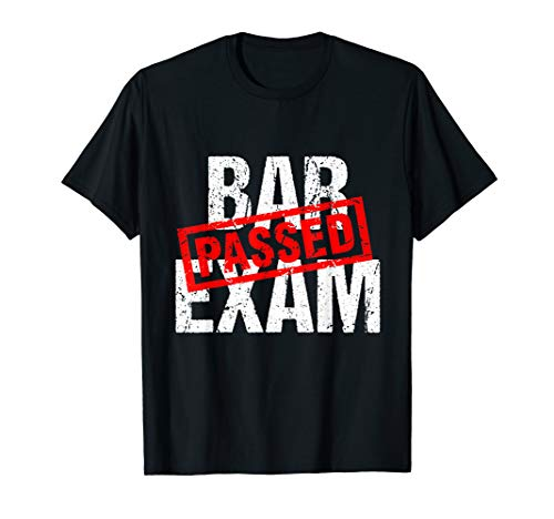Bar Exam Passed Law School Student Graduation Gift T-Shirt