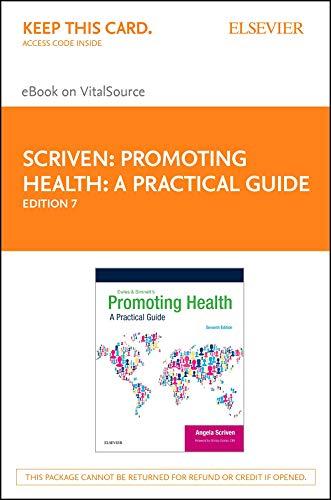 41ej nxGJIL - Promoting Health: A Practical Guide - E-Book: Ewles & Simnett
