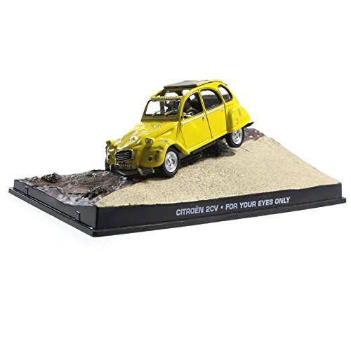 Voiture miniature Citroen 2cv 1/43 For your eyes only James Bond 007