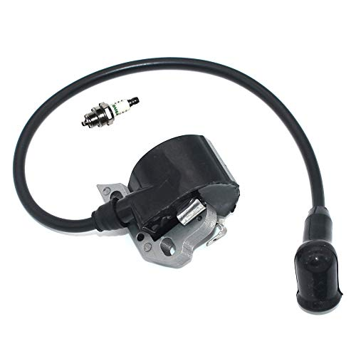 P SeekPro Ignition Coil Module Spark Plug for Stihl Chainsaw 015 015AV 015L 1114 404 3200 1110 400 7005