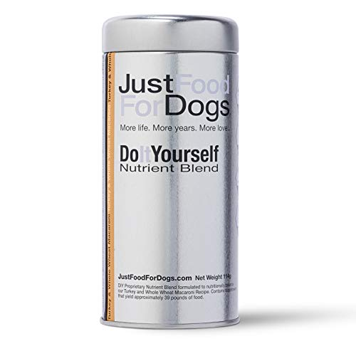 Top 10 best selling list for using just for dogs supplement for homemade dog food