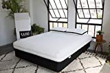 Luxi3n1 Adjustable Foam Mattress, Each Side Adjusts Separately For...