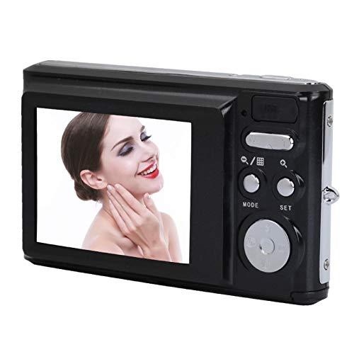 FOLOSAFENAR Mini cámara de Video con 1 batería con Pantalla de 2.4 Pulgadas, para Video conmemorativo Familiar, para Regalo(Black)