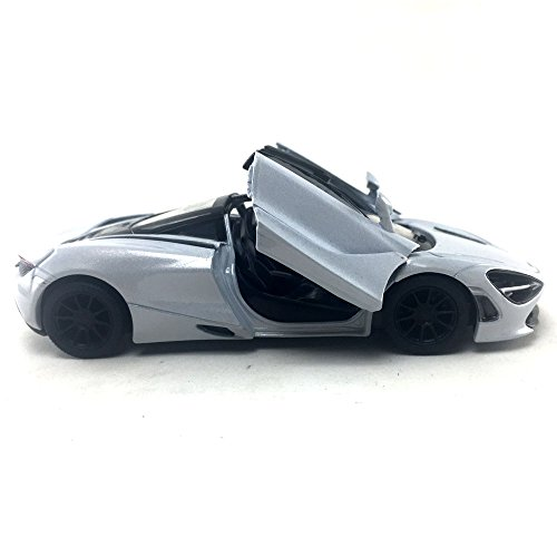 Kinsmart McLaren 720s White 1:36 DieCast Model Toy Car Collectible Hobby Super Sport Car Collection