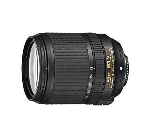 Objetivo Nikon Nikkor AF-S DX 18-140MM F / 3.5–5.6G ED VR, negro [Tarjeta Nital: 4 años de garantía]