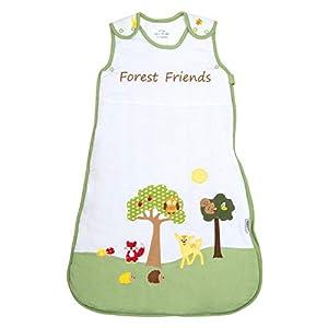 Slumbersac – Saco de dormir para bebé (0,5 tog), diseño de animales Forest Friends – Diferentes tamaños: de 0 a 6 años…