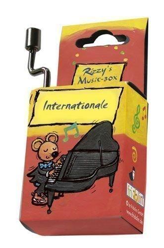 Desconocido Fridolin 59005 - Caja de música con manivela (melodía de La Internacional)