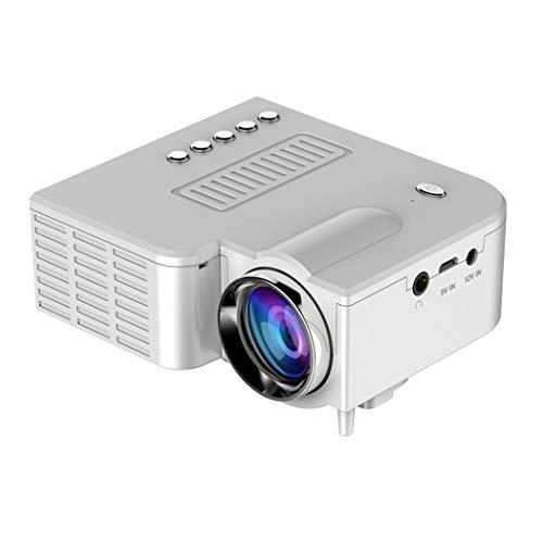 Dinger Mini Proyector LED Portátil 1080P Multimedia Cine Cine en Casa Videoproyectores