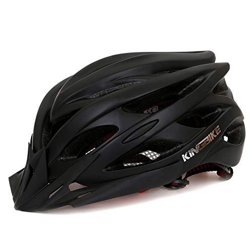 WOW Casco de la Bicicleta con luz de Seguridad LED, Certificado CE...