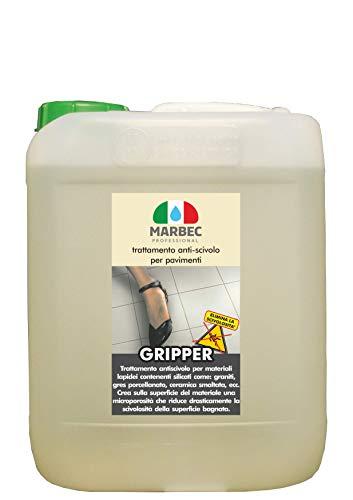 Marbec - GRIPPER 5LT | Tratamiento antideslizante para suelos