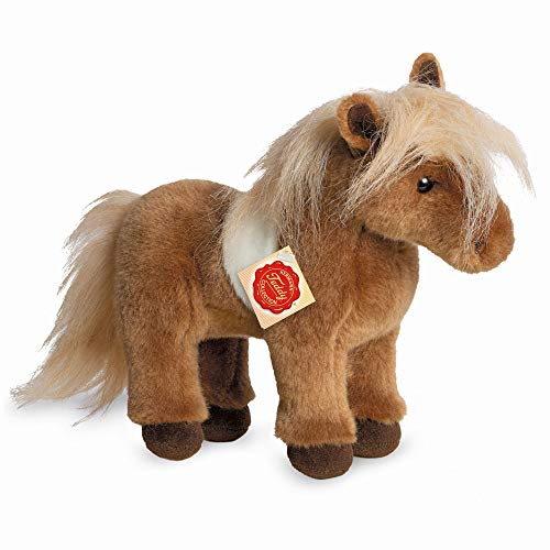 "Teddy Hermann 90258 Horse Shetland Pony 9,8""/25 cm, Soft Toy, Plush Toy"