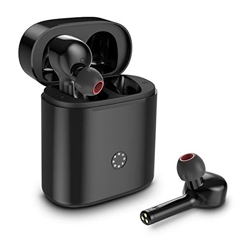 TWS Bluetooth 5.0 Earbuds, True Wireless Earbuds 3D Stereo Deep Bass