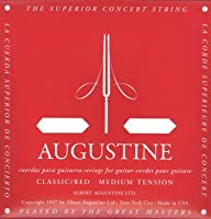 AUGUSTINE RED SET×6セット オーガスチンクラシックギター弦 レッド