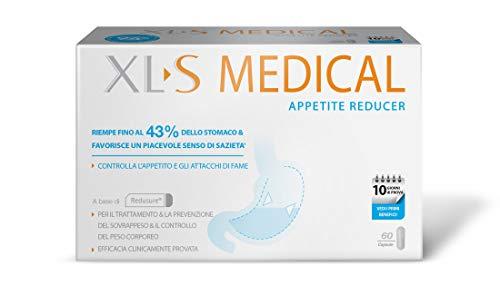 Xls Medical Appetite Reducer Dispositivo Medico per il Controllo della Fame e della Riduzione dell'Appetito, 60 Capsule