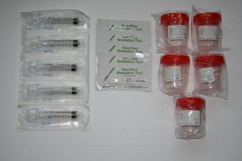 Deluxe Fertility Kit Set zur Befruchtung