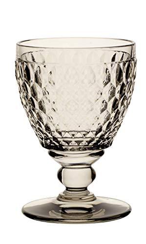 Villeroy & Boch Boston Coloured Verre à vin blanc Smoke, 230 ml, Cristal, Gris