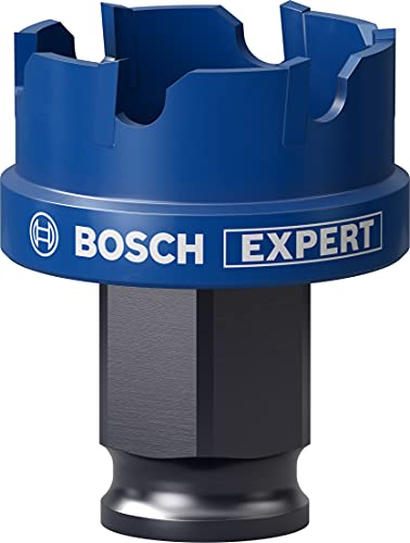 Bosch Professional 1 x Sierras de corona Expert Sheet Metal, para Láminas de acero, Láminas de acero inoxidable, 30 mm, Accesorios Taladro de impacto rotativo