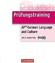 Prufungstraining Daf: Prufung AP German Exam (B2) - Ubungsbuch MIT Cds