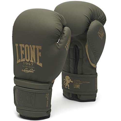 LEONE 1947 Military Edition, Guantoni Unisex – Adulto, Verde, 10OZ