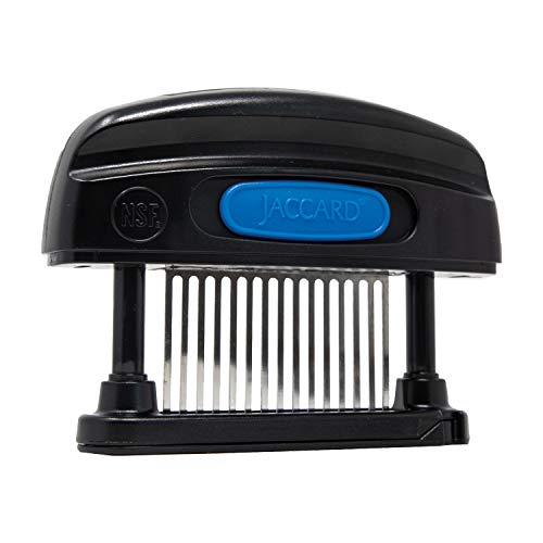 Jaccard 15-Blade Meat Tenderizer, Simply Better Meat Tenderizer, ABS Columns/ Removable Cartidge, NSF Approved, Black