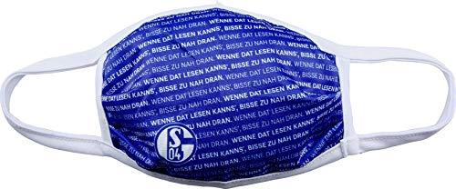 Schalke 04 FC Mund- und Nasenmaske