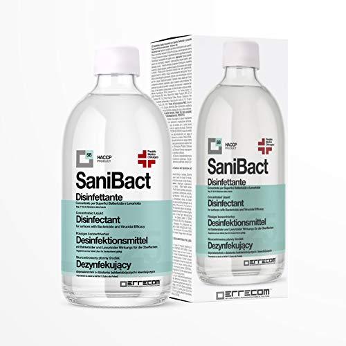 Errecom SaniBact - Desinfectante desinfectante médico quirúrgico, 500 ml