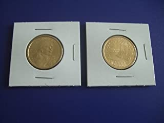 2001 P Mint Sacagawea Native American Golden $1 Dollar Uncirculated Coin