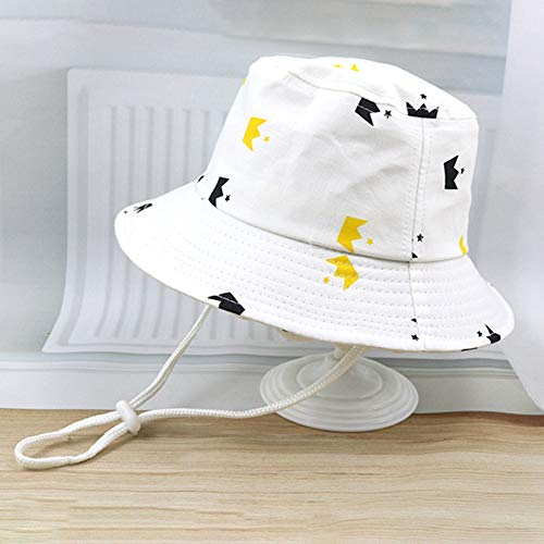 Isidore Ches Special Fruit Series Gorro de pescador para bebé, sombrero de playa de verano, sombrero de sol para niña, bebé y niño