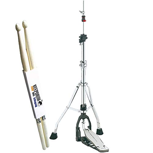Tama HHDS1 Hihat Pedal Hihat Maschine Dyna-Sync + keepdrum Drumsticks 1 Paar