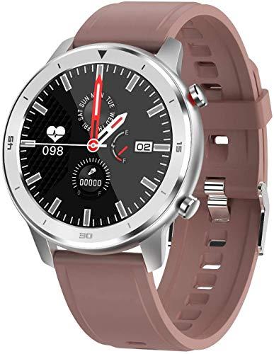 TYUI Reloj inteligente con pantalla grande de 1,3 pulgadas, para hombres y mujeres, monitor de presión y oxígeno, compatible con teléfonos Android e iOS