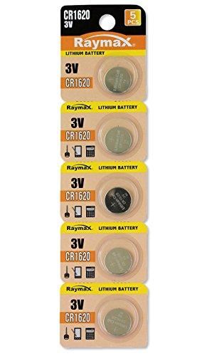KONNOC IBT-KCR1620 - Batterie a bottone Litio CR1620 (set 5 pz)