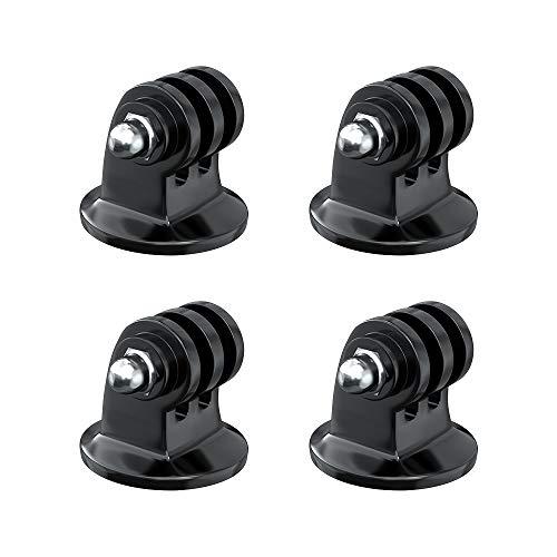 Wealpe Stativ Mount Adapter Halterung Stativadapter Kompatibel mit GoPro Hero 9, 8, 7, Max, Fusion, Hero (2018), 6, 5, 4, Session, 3+, 3, 2, 1, DJI Osmo, Xiaomi Yi Kameras