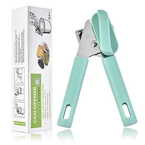 Abrelatas, abrelatas manual-herramienta de corte súper afilada de borde liso-abrelatas de mano de acero inoxidable duradero