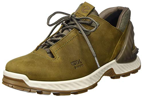 ECCO mens Exohike Low Gore-tex Hiking Shoe, Cayote Nubuck, 10-10.5 US
