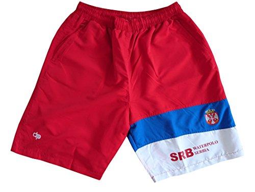 Diapolo - Pantaloncini Serbia della Collezione National Rot XL
