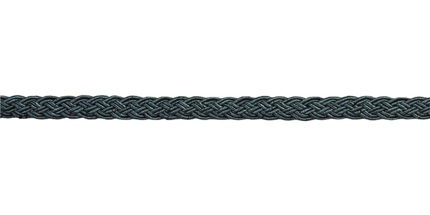 Belagio Enterprises 3/8-inch Woven Braid Trim 50-Yard, Teal