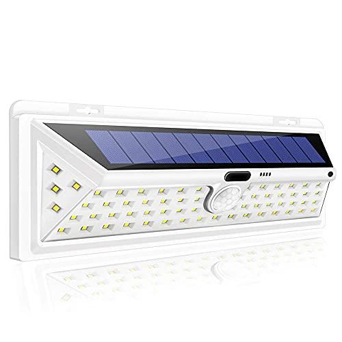 Garden Solar Lights 66 LED Solar Lights Outdoor Motion Sensor Light Wireless Waterproof IP65 Security Solar Lamp Front Door Emergency Lights