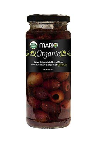 Greek Organic Kalamata and Green Olives Pitted