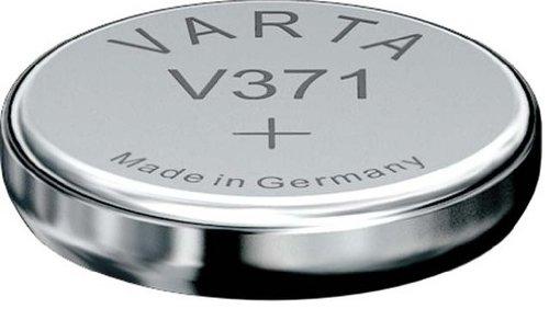 VARTA Batterien Electronics V371 Knopfzelle Uhrenbatterie 1er Pack Knopfzellen in Original 1er Blisterverpackung