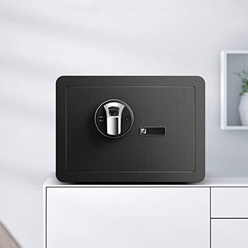 HYYQG Casseforti Nascoste, Parete d'Acciaio Sicura del Contenitore Sicurezza della Cassetta Chiave Digital Sicuro Piccola Fissata Muro Pavimento per L'Ufficio Casa ECC, Black